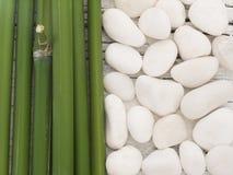 Stazione termale di bambù Fotografie Stock