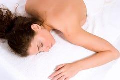 Stazione termale e massaggio Immagini Stock Libere da Diritti