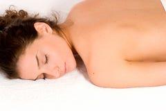 Stazione termale e massaggio Fotografia Stock