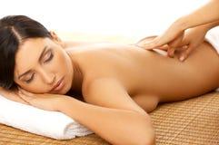 Stazione termale e massaggio fotografie stock