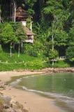 Stazione termale e spiaggia Immagini Stock