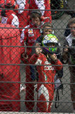Stazione termale Francorchamps della corsa di formula 1 Immagine Stock Libera da Diritti