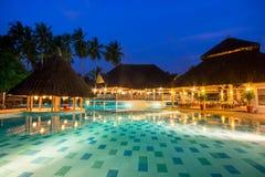 STAZIONE TERMALE n Kenya della località di soggiorno dell'albergo di lusso immagini stock