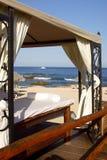 Stazione termale sulla spiaggia fotografie stock