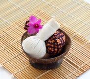 Stazione termale tailandese e massaggio Fotografia Stock