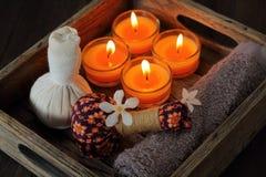 Stazione termale tailandese e massaggio Immagine Stock Libera da Diritti