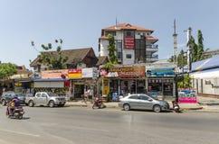 Stazione turistica della via del Ao Nang. Fotografia Stock