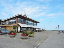 Stazione turistica di Nida, Lituania Fotografia Stock Libera da Diritti