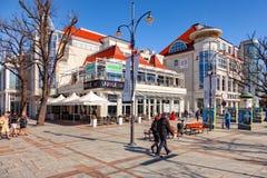 Stazione turistica Sopot Fotografia Stock Libera da Diritti