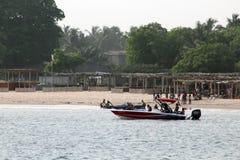 Stazioni balneari della baia di Takwa Fotografia Stock