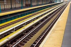 Stazioni della metropolitana New York Fotografie Stock