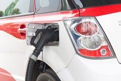 Stazioni di carico dell'automobile elettrica di Shenzhen Immagini Stock Libere da Diritti