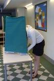 STAZIONI DI VOTAZIONE DEGLI SVEDESI Fotografia Stock Libera da Diritti