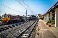 Stazioni ferroviarie Fotografie Stock