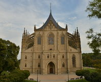 StBarbara kyrka Royaltyfri Fotografi