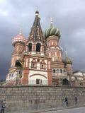StBasil` s Kathedraal, Moskou Royalty-vrije Stock Foto's