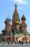StBasils Kathedrale, Moskau, Russland Lizenzfreies Stockbild