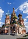 StBasils-Kathedrale, Moskau, Russland stockfotografie