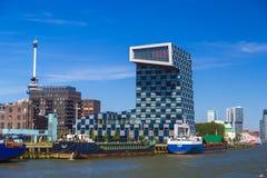 STC小组公司,鹿特丹,荷兰现代办公楼  库存图片