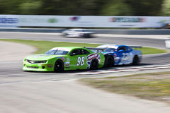 STCC Racing Cars Royalty Free Stock Photography