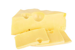 Stück Käse Stockfotografie