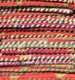 Stck variopinto della stuoia del pavimento/portello/piede Fotografie Stock Libere da Diritti