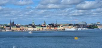 Stcokholm Svezia Fotografie Stock Libere da Diritti