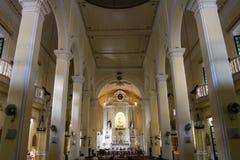 Stdominic s kyrka Arkivfoton