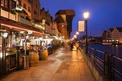 Städtereise in der alten Stadt von Gdansk Lizenzfreies Stockbild