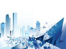 Städtischer Hintergrund. Lizenzfreie Stockbilder