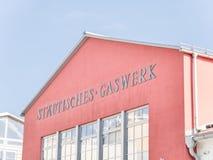 Städtisches Gaswerk Rosenheim Stock Images