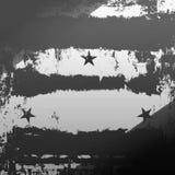 Städtisches Grunge mit Sternen Lizenzfreies Stockfoto