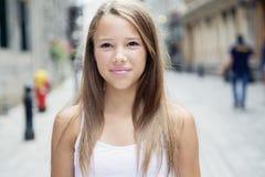 Städtisches Mädchen Lizenzfreie Stockfotos