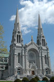 Ste. Anne de Beaupre. The shrine and cathedral at Ste. Anne de Beaupre, Quebec Stock Image