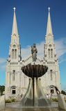 Ste-Anne-de-Beaupre Basílica Imagem de Stock