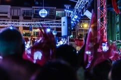 30ste August Turkish Victory Day Concert Royalty-vrije Stock Afbeeldingen