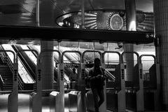 34ste de metropost New York van straathudson yards Royalty-vrije Stock Foto