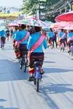 30ste de paraplufestival van verjaardagsbosang in Chiangmai-provincie van Thailand Royalty-vrije Stock Foto's