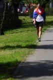 26ste internationaal de Marathonras van Belgrado Stock Afbeeldingen