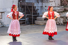 21-ste internationaal festival in Plovdiv, Bulgarije Stock Foto's
