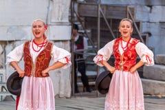 21-ste internationaal festival in Plovdiv, Bulgarije Royalty-vrije Stock Foto's