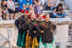 21-ste internationaal festival in Plovdiv, Bulgarije Stock Afbeeldingen