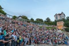 21-ste internationaal festival in Plovdiv, Bulgarije Stock Fotografie