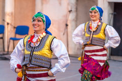 21-ste internationaal festival in Plovdiv, Bulgarije Royalty-vrije Stock Fotografie