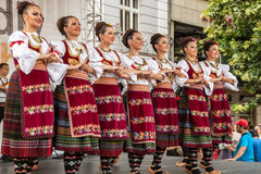 21-ste internationaal festival in Plovdiv, Bulgarije Stock Foto