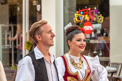 21-ste internationaal festival in Plovdiv, Bulgarije Royalty-vrije Stock Afbeelding