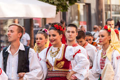 21-ste internationaal festival in Plovdiv, Bulgarije Stock Fotografie