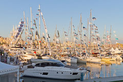 32ste Internationaal Istanboel Boatshow Royalty-vrije Stock Foto