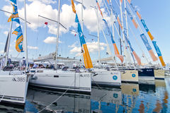 32ste Internationaal Istanboel Boatshow Royalty-vrije Stock Afbeeldingen