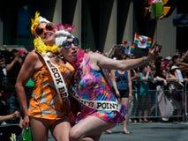 33ste Jaarlijks Pride Parade van Toronto Stock Foto's
